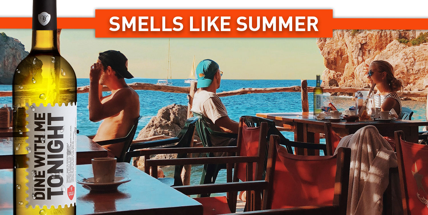 Smells like Summer - Dine With Me Tonight white