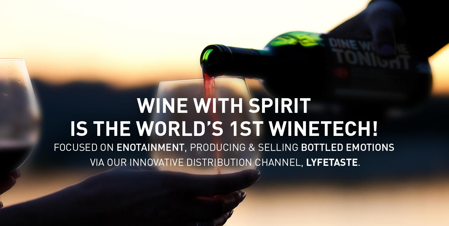 wine with spirit worlds first winetech