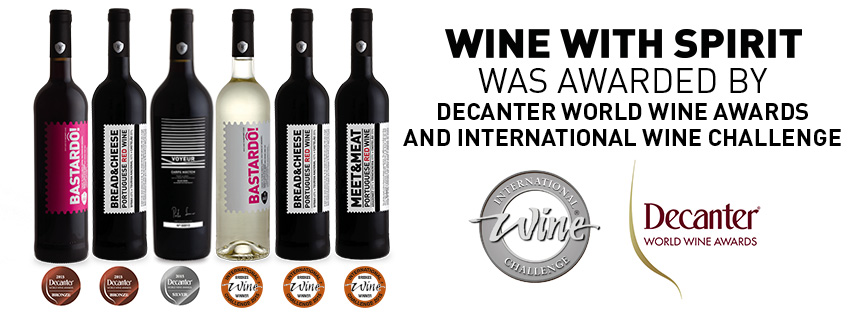 WINE WITH SPIRIT AWARDED WITH NEW 6 MEDALS