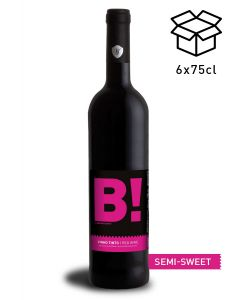 vinho tinto semi sweet b! by wine with spirit