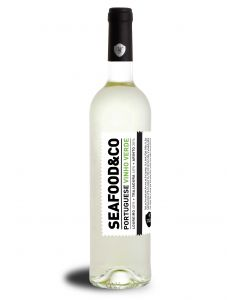 Vinho Verde White Wine Seafood and Company wine with spirit