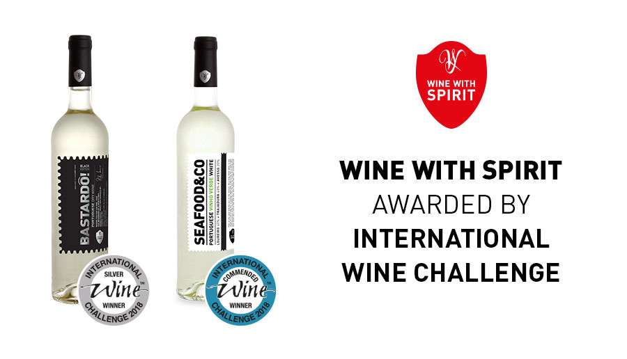 WINE WITH SPIRIT WAS AWARDED WITH 2 NEW MEDALS